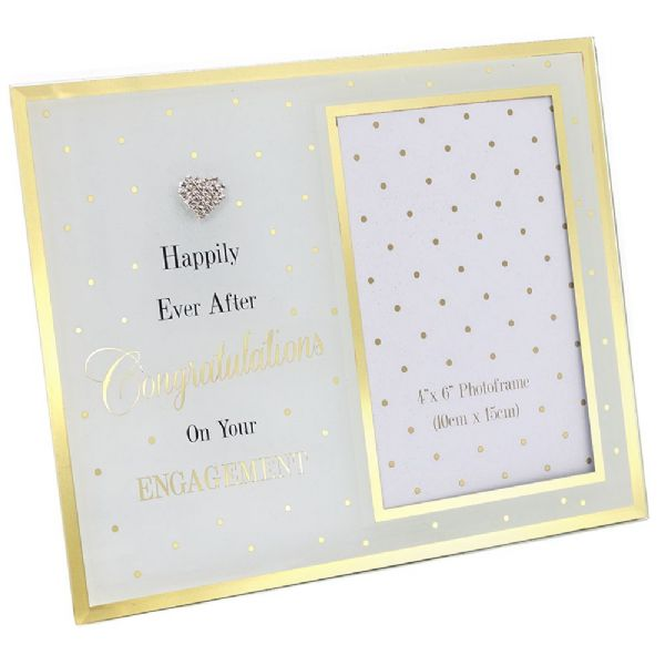 Mad Dots Engagement Mirror Frame